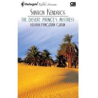 Ebook Kekasih Pangeran Gurun (The Desert Prince's Mistress) - Sharon Kendrick