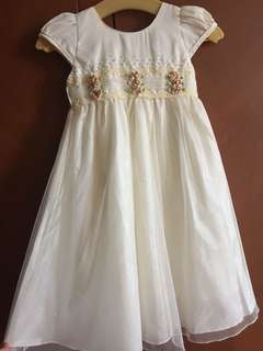 Shimmery dress 2-4 years old