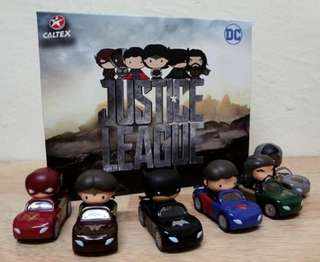 Pre-order Caltex Justice League Mini Car Set