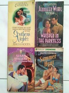 Southern nights, whisper in the darkness, the Sheik's kidnapped bride, summer heat