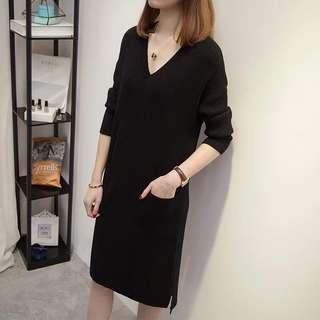 Black Dress - winter