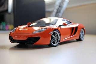 Autoart 1/18 Mclaren 12C Orange