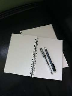 B5 Dotted Muji-styled Notebook