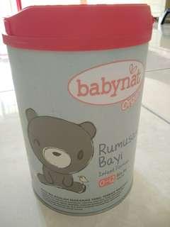 BabyNat Organic Infant Formula 0-12