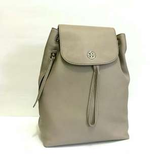 TB brondy backpack frenchgray sz 25x37