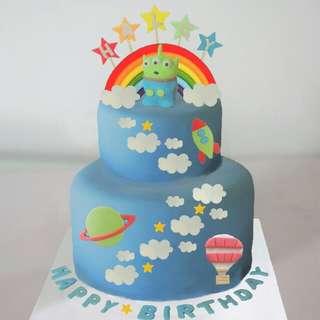 三眼仔蛋糕