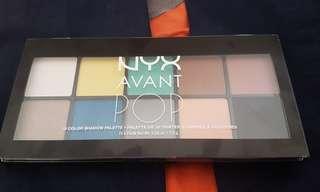 NYX Avant Pop! Eyeshadow palette