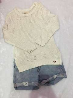 Sweater rajut by Hollister