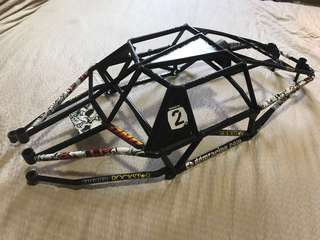 HPI baja cage for 5T and 5B conversion