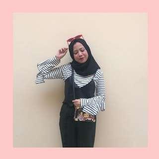 Abey Stripe Blouse