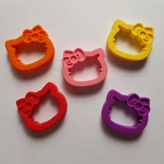 Hello kitty food graded silicone teether