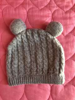 Cotton on knitted hat