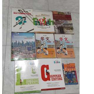 Sec 2 Express School Textbooks and Assessment Books