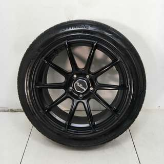 17 '' Sports Rim With Tyres 5x114.3 (SR1075)
