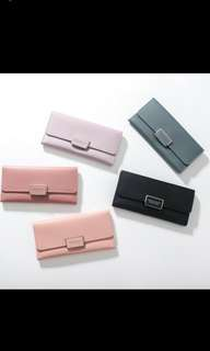 Women Long Wallet With Coin Bag