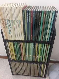 Encyclopedia set nature library, life science library, great man of age, childrens' treasury of knowledge