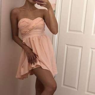 Ally Fashion Pink Girly Dress