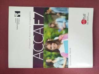 ACCA F7 Financial Reporting - Revision kit