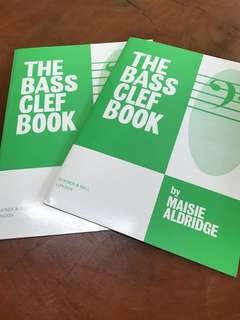 The bass clef piano book
