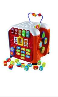 Toddler Toy VTech Alphabet Activity Kids Learning Cube
