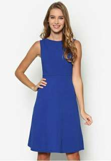 Zalora essential fit and flare dress