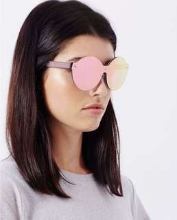 House of Holland On A Lense sunglasses in Pink
