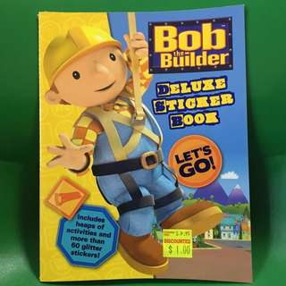 Bob the Builder Sticker Book