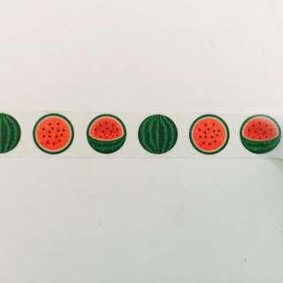 Watermelons Cut Washi Tape 15mm x 10m #GJ16