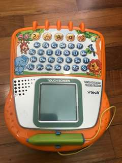 Vtech write&learn touch tablet
