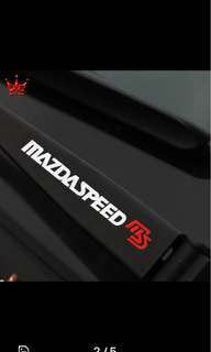 Mazda speed Sticker