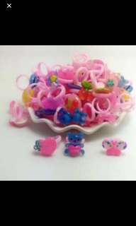 kids rings brand new Ideal For birthday/gift buy 5 get 1 free