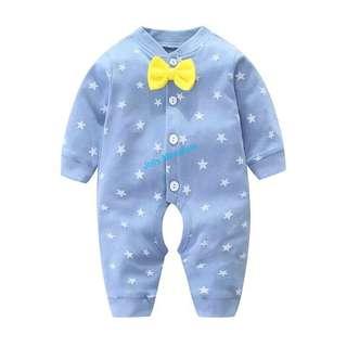 Baby Romper (Blue Star ⭐️)