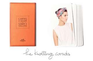 Hermes Knotting cards (Cartes à nouer)