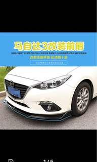 Mazda 3 Front Lip