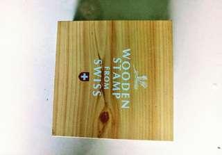 全世界第一套木頭郵票
