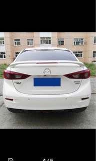 Mazda 3 Spoiler