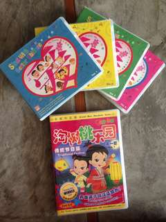 Learn chinese kids dvd and cd
