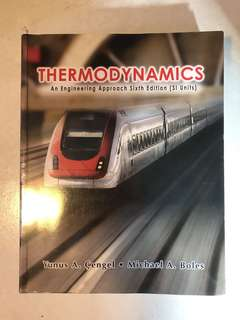 Thermodynamics university textbook