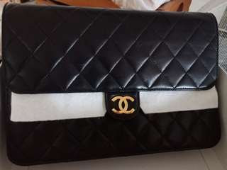 Authentic GHW Single Flap Chanel