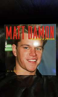 Matt Damon - Chasing a Dream