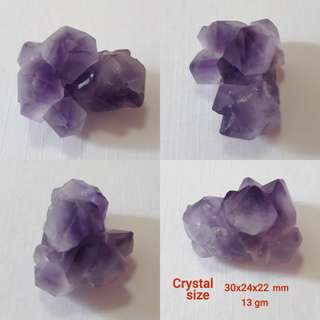 🏵Amethyst Flower multi terminated. Very nice.