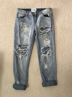 One Teaspoon Denim Jeans