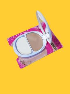 Authentic Covergirl 215/220 Medium Shade Ready, Set, Gorgeous powder foundation