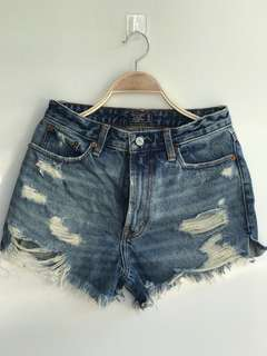 Abercrombie & Fitch- Annie High Rise Shorts