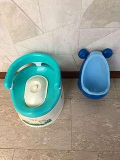 baby/ child toilet ;potty set