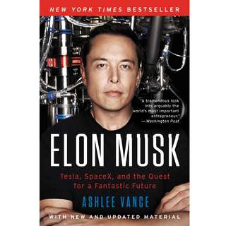 Elon Musk: How the Billionaire CEO of SpaceX and Tesla is Shaping our Future by Ashlee Vance - EBOOK