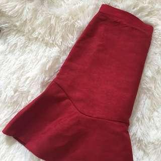 Size 6/8 flippy hem skirt PLT