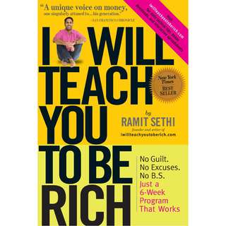 I Will Teach You To Be Rich by Ramit Sethi - EBOOK