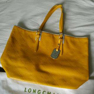Coach 100%正品!全真皮leather tote bag