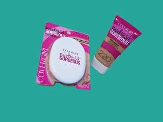 Authentic Covergirl Set (Pressed powder & Liquid Foundation)